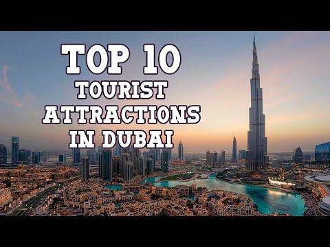 Top 10 Tourist Attractions in Dubai