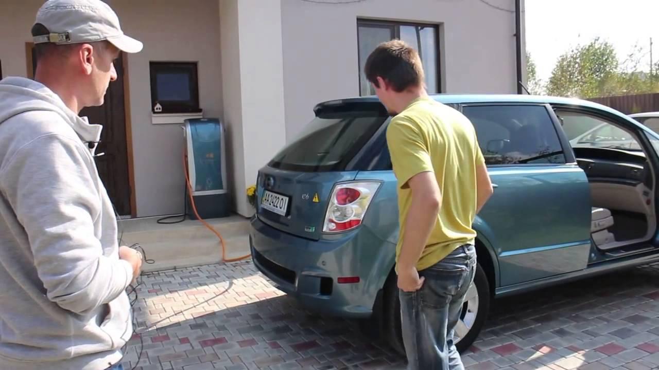ч1 Электромобиль 300 км пробега BYD e6 ПОЛНЫЙ ОБЗОР Электромобиль BYD e6  купить