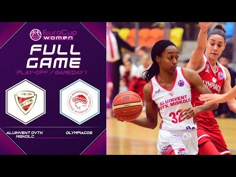Aluinvent DVTK Miskolc v Olympiacos - Full Game - EuroCup Women 2019-20
