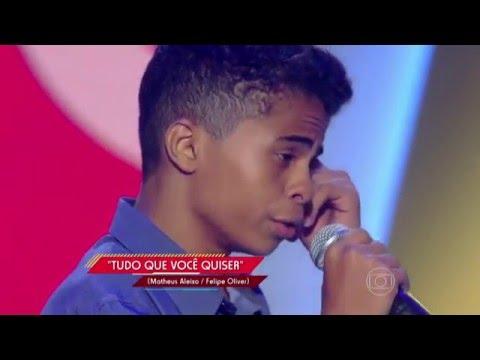 Cairo Henrique canta 'Tudo Que Você Quiser' no The Voice Kids - Audições|1ª Temporada