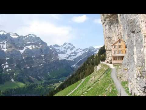 Amazing Cliff Side Hotel Aescher In Ebenalp Region Switzerland Cool Things