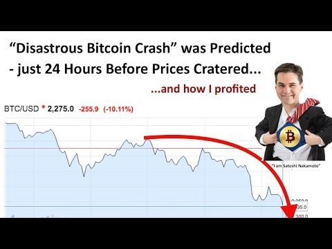 Satoshi is Back!! Plus - How I'm up 20% Thanks to the 2017 Bitcoin Crash