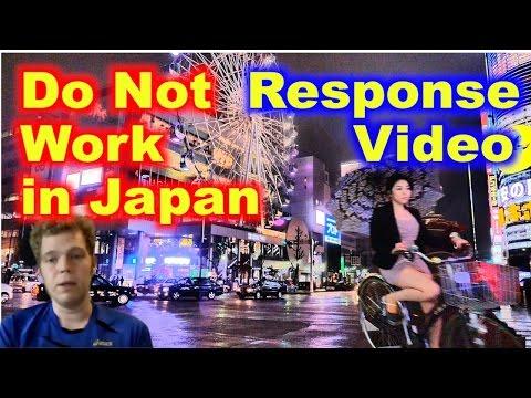 Do Not Work in Japan (rebuttal)
