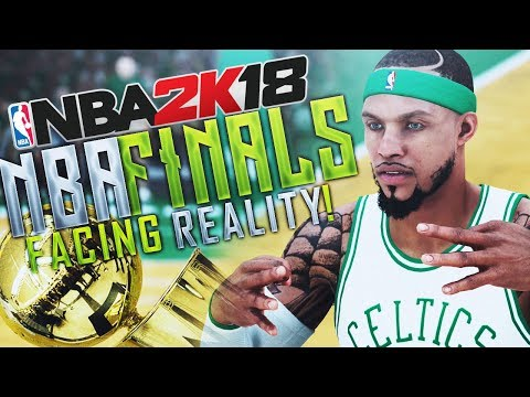 NBA 2K18 MyCAREER NBA Finals Pt.1 - Facing Reality! The Unexpected Happens...