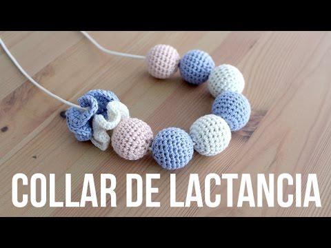 DIY Collar de lactancia - Bolas de crochet