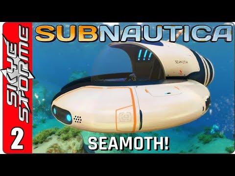 SUBNAUTICA Gameplay - Part 2 ► Seamoth, Lazer Cutter and Alien Base! ◀