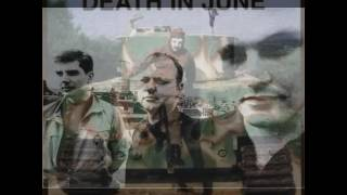 death in june Hand Grenades and Olympic Flames subtitulada