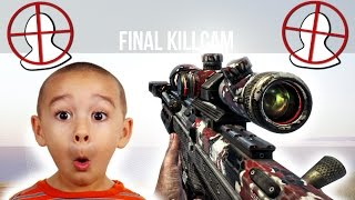 12 year old trolled by aimbot trickshots on black ops 2