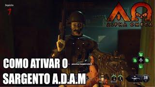 ALPHA OMEGA: Como ativar o Sargento A.D.A.M (Protetor civil) - BO4 Zombies DLC 3