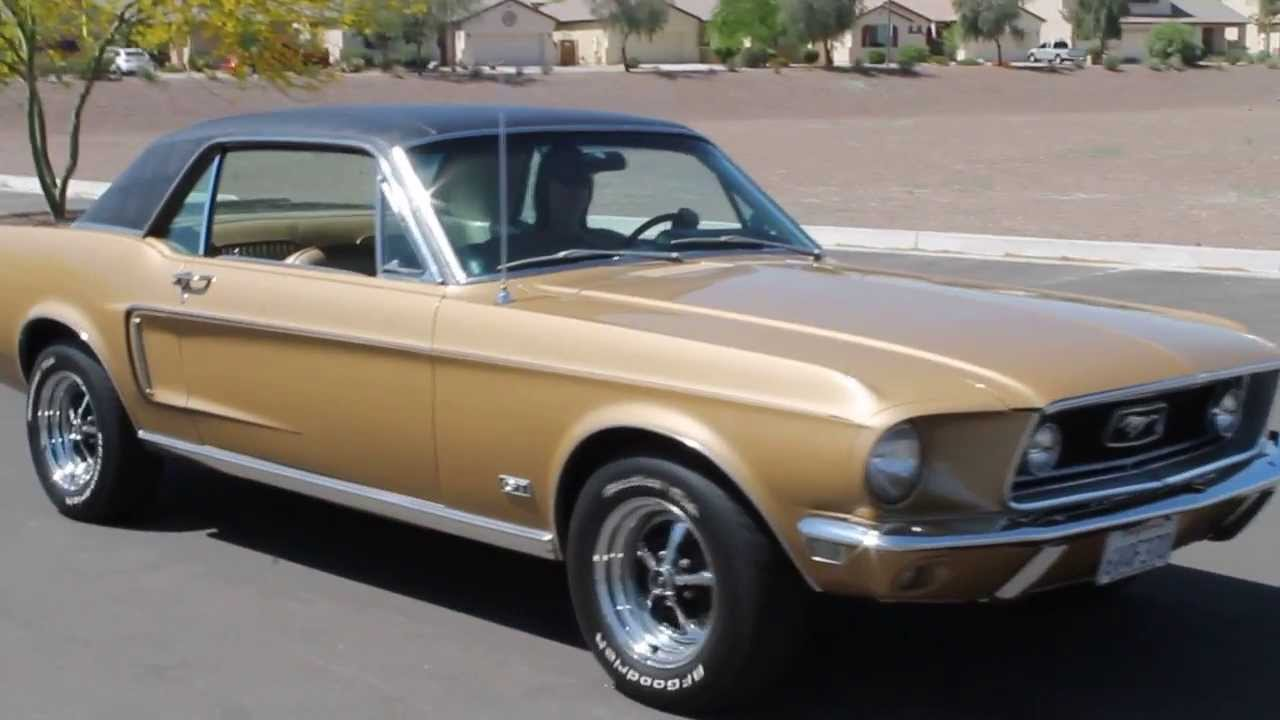 1968 Mustang Gt S Code 390 Video Trailer Youtube
