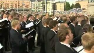 Sångarhyllning vid Det Kungliga Bröllopet den 19 juni 2010