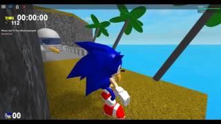 Sonic Adventure in Roblox!