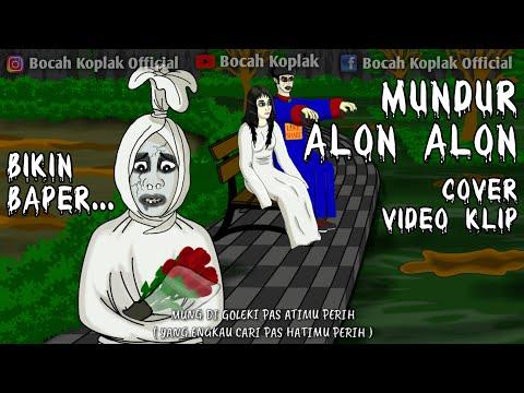 Mundur Alon Alon Cover Video Klip Pocong DKK Kartun Hantu Lucu Bocah Koplak