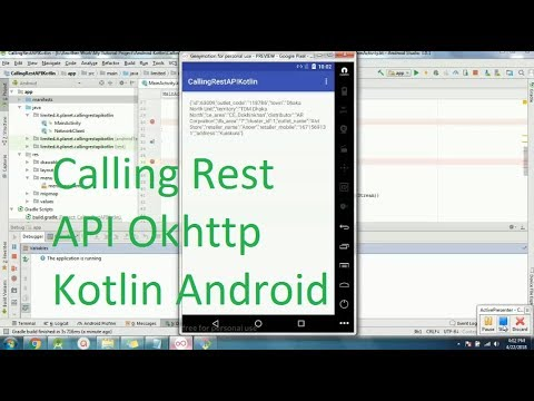 Request Rest API with okhttp on Kotlin in android studio 3 0 1