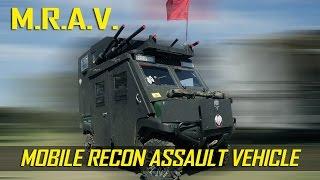 Airsoft Tank w/ Rockets & Machine Guns! - Blackout Militia M.R.A.V. - Airsoft GI