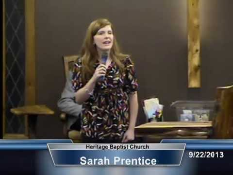 Sarah Prentice - Change Me Now (babbie mason)