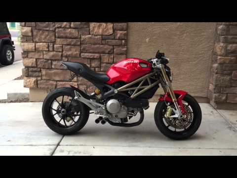 Ducati Monster 796 Boomtubes