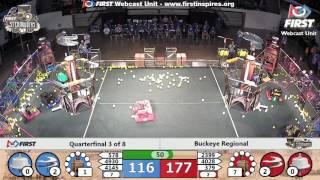 Quarterfinal 3 - 2017 Buckeye Regional