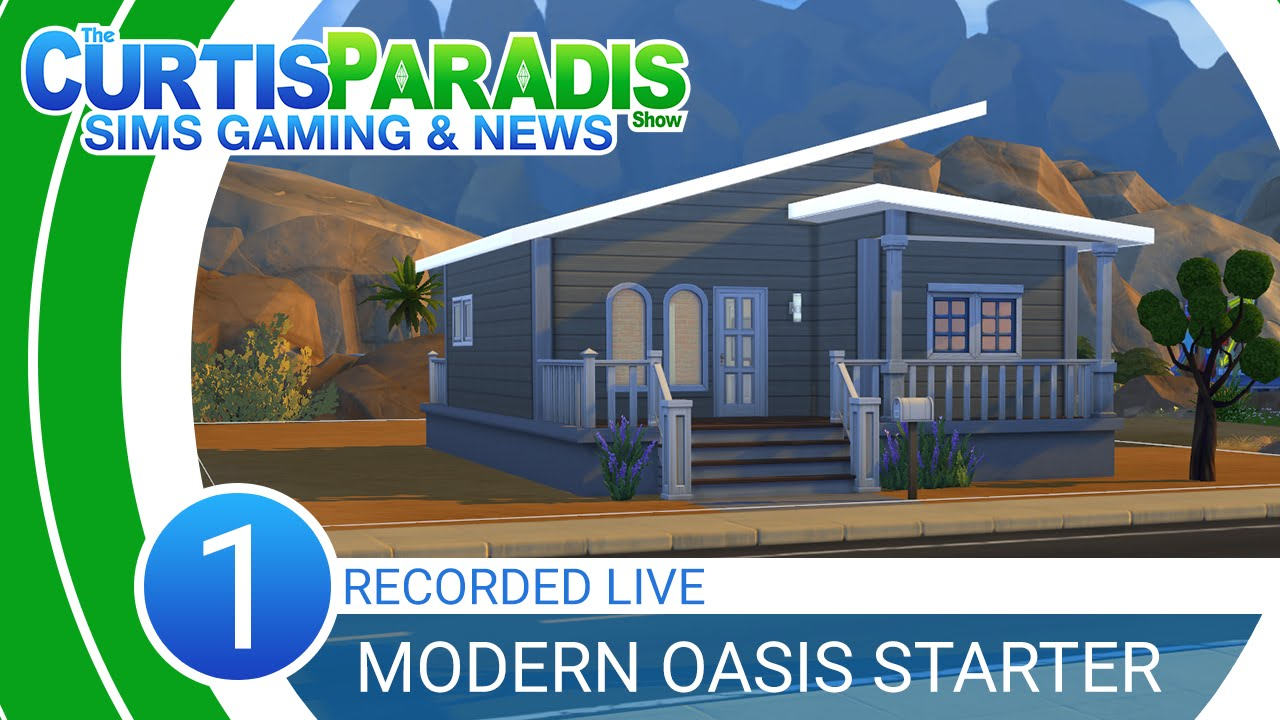 Curtisparadislive sims 4 building starter home part 1 youtube -  Curtisparadislive Sims 4 Building Starter Home Part 1 Youtube
