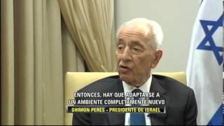 FRAGMENTO ENTREVISTA DE ADELA A SHIMON PERES