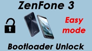 ZenFone 3 BOOTLOADER UNLOCK (using original app tool)