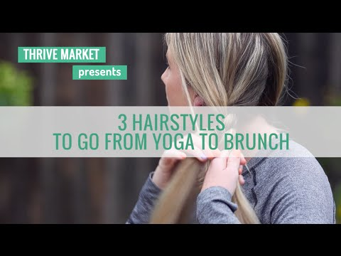 3 Braided Hairstyles to Take You From Yoga To Brunch