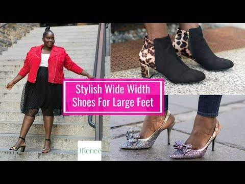 Stylish Plus Size Wide Width Shoes