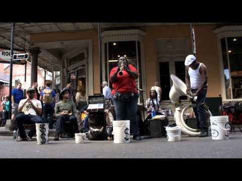 Doreen's Jazz Band, NOLA (New-Orleans, Louisiana), music, French Quarter