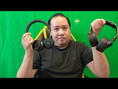 Review And Comparison Of The Audio Technica ATH-SR5BTBK And Sony MDR-X950BT Headphones