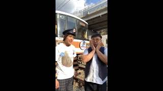 『北神急行谷上車庫で鉄板ネタをやってみたよ! / コンチェルト(松竹芸能)』|mysta YouTube