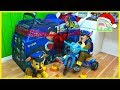 Biggest Paw Patrol Surprise Toys Tent Playhouse | Toy Review for Kids