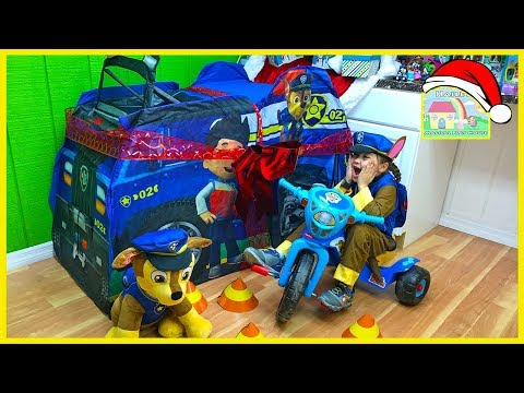 Thumbnail: BIGGEST PAW PATROL SURPRISE TOYS BOX Opening PawPatrol Eggs Toy Surprises Tricycle Ride-On Tracker