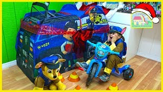 Biggest Paw Patrol Surprise Toys Tent Playhouse! Toy Review for Kids