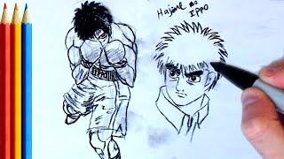 How to Draw Ippo (Hajime no Ippo) - Step by Step Tutorial