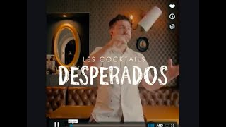 Pub cocktail desperados / Paris / shake it bartending