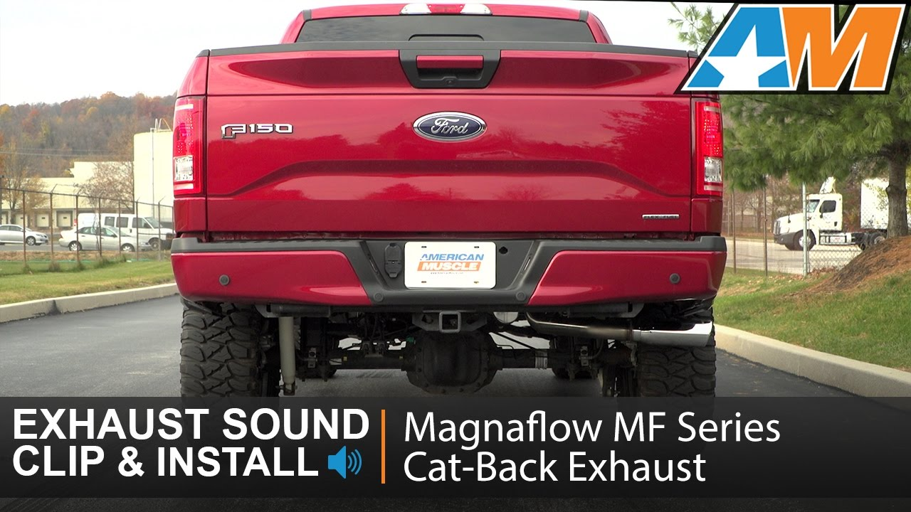 Magnaflow MF Series Single Exhaust System - Side Exit (15-19 5 0L F-150)