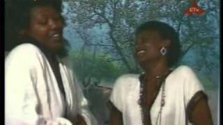 Ethiopian Music: Yodit Worku and Abebech Derara - Saw Befiqer Tammo