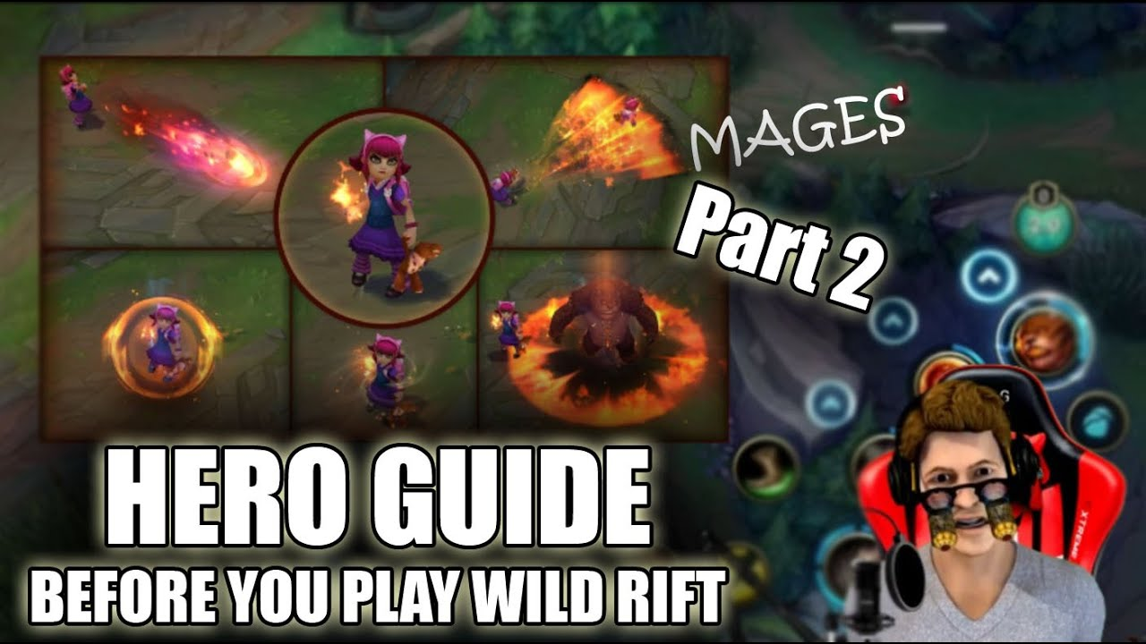 League Of Legends Wild Rift Heroes