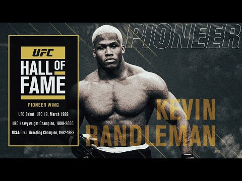 Kevin Randleman Joins The UFC Hall Of Fame