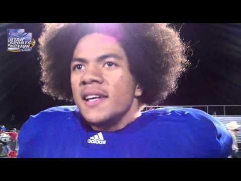 Beehive Classic: Tonga Manu (Bingham Miners) post-game interview 09-01-12