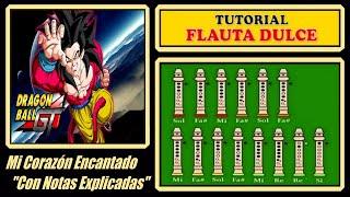 Dragon Ball GT (Versión Fácil) en Flauta Dulce
