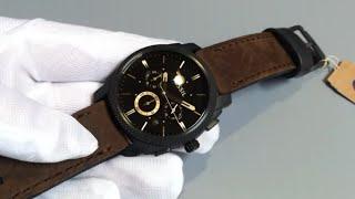Men's Fossil Machine Chronograph Watch FS4656