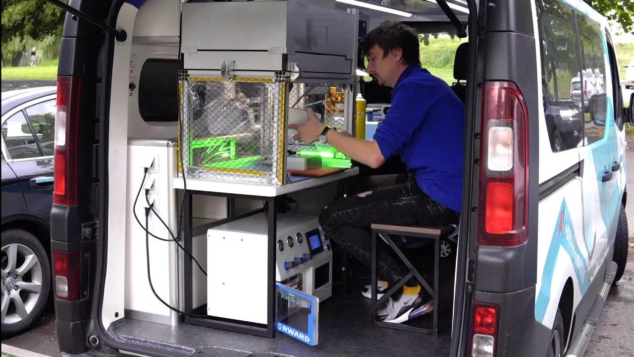 Обзор сервисного центра на колесах, обзор мастерской на колесах. Сервисный центр в машине.