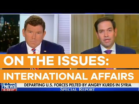 Marco Rubio Joins Bret Baier on Fox News to Discuss Situation in Syria