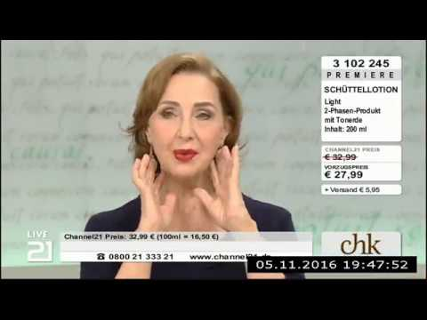 Christine Kaufmann bei Channel21 am 05.11.2016 - Teil 6