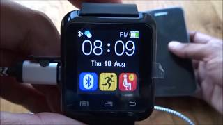 Best Buget Smart Watch U8 Hands on Review and Test