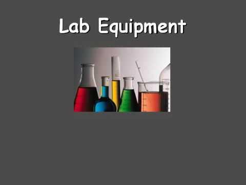 بعض أدوات المختبر بالانجليزي Youtube