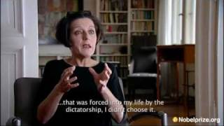 Nobel Prize in Literature 2009 documentary, Herta Müller