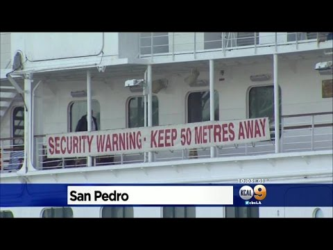 Crown Princess Cruise Ship Departs From San Pedro After ...