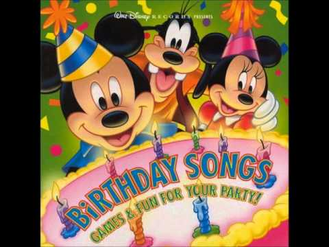 Disney Happy Happy Birthday To You Youtube